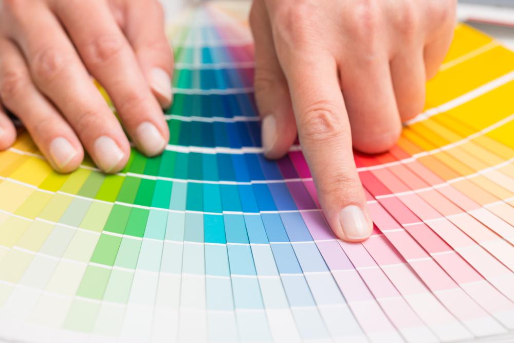 Escolha das cores para identidade visual